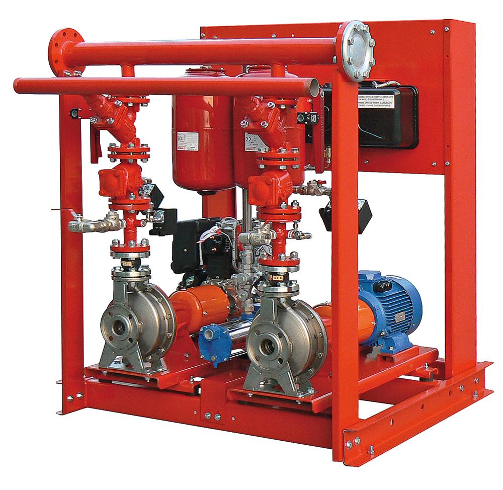 Antincendio faella stazioni di pompaggio antincendio e relative riserve idriche antincendio - Tubo gas interrato ...
